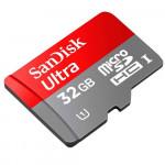 Cartão de Memória Sandisk MicroSD 32GB Class 10 SDSDQU-032G-U46A Imagem 01