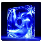Cooler FAN 120mm Thermaltake Pure LED Azul CL-F012-PL12BU-A Imagem 01