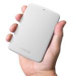 HD Externo Portátil Toshiba Canvio Connect 1TB USB 3.0 Branco HDTC710XW3A1 Imagem 01