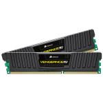 Imagem 01 Memória RAM Corsair Vengeance LP 8GB (2x 4GB) DDR3 1600 Black CML8GX3M2A1600C9