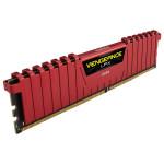 Memória RAM Corsair Vengeance LPX 16GB (2x 8GB) DDR4 2400 Vermelha CMK16GX4M2A2400C14R Imagem 01