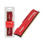 Memória RAM Kingston Hyper-X Fury 8GB DDR3 1600 Red HX316C10FR/8 Imagem 01