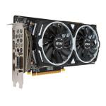 Placa de Vídeo MSI Radeon RX 480 Armor OC 4GB GDDR5 RX 480 ARMOR 4G OC Imagem 01