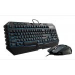 Teclado e Mouse CoolerMaster Octane Led Gaming Combo SGB-3020-KKMF1-BR Imagem 01