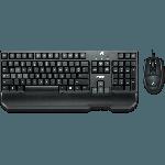 Teclado e Mouse Logitech G100S Gaming Combo 920-005698 Imagem 01