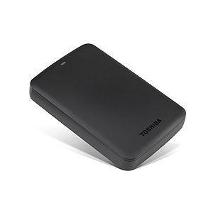 HD Externo Portátil Toshiba Canvio Basics 2TB USB 3.0 Preto HDTB320XK3CA Imagem 01