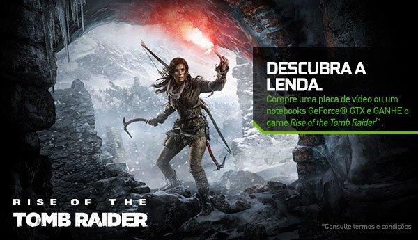 Banner Nvidia Geforce GTX Descubra a Lenda