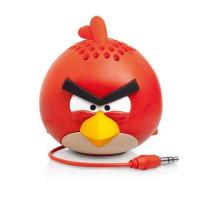 Caixa de Som Portátil Angry Birds Vermelha PG778G Imagem 01