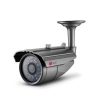 Imagem 01 Camera Segurança Bullet LG LCU3100R 700 TVL IR 20 Metros