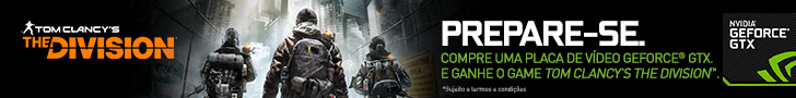Banner Nvidia Geforce GTX Tom Clancy's The Division